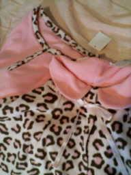 ピンクの豹柄が好き
