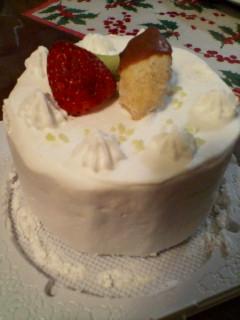 今年のケーキ2