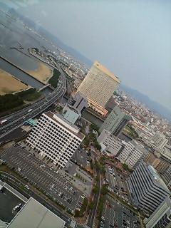 福岡タワーより