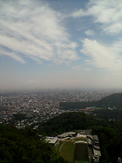 大倉山の眺め
